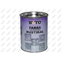 Farba RUSTICAL, grafit, 1,0kg (0,8L)
