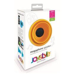 Przenośny głośnik bluetooth żółty włoskiej marki JoyStyle