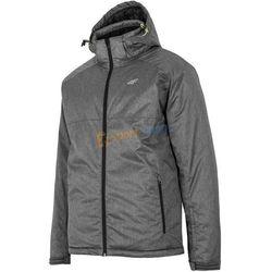 Kurtka narciarska męska KUMN011 4F (ciemny szary melanż)