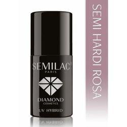 Semilac Semi Hardi Rosa ( HARD ) - budujący 7ml