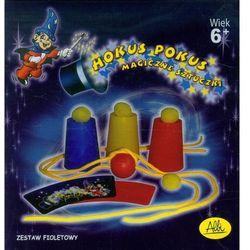 Hokus Pokus Magiczne sztuczki zestaw fioletowy