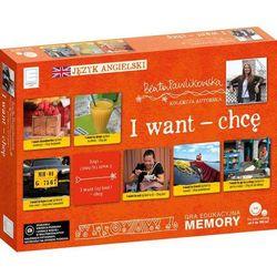 Edukacyjne memory językowe I want chcę