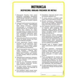 Instrukcja BHP bezpiecznej obsługi frezarek do metali