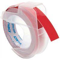 Dymo oryginalny taśma do drukarek etykiet, Dymo, S0898150, czarny druk/czerwony podkład, 3m, 9mm, opakowanie po 10 szt., cena za 1