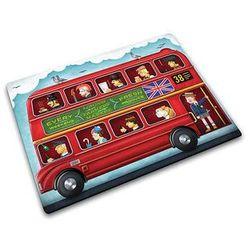 Deska do krojenia szklana London Bus Joseph Joseph