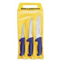 Zestaw noży ERGOGRIP - 3części, plastikowa rączka DICK 8255300
