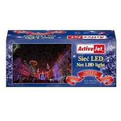 Lampki choinkowe Sieć 200LED AJE-NLB20014CO białe zimne zewnętrzne