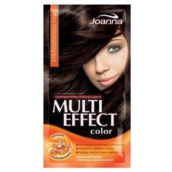Joanna Multi Color, szampon koloryzujący w saszetce, 10 kasztanowy brąz