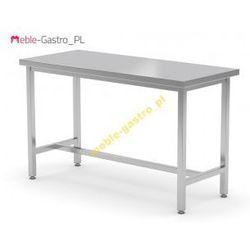 Stół nierdzewny centralny wzmocniony 100x80x85