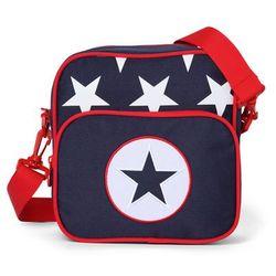 Penny Scallan Design, torba listonoszka, granatowa w gwiazdy Darmowa dostawa do sklepów SMYK