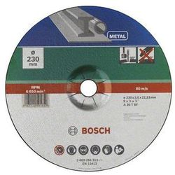 Tarcza tnąca metal, 230mm Bosch