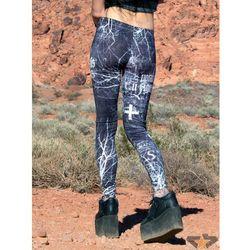 spodnie damskie (legginsy) Disturbia - Tajemny - 303