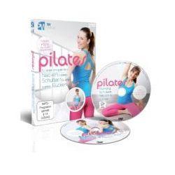 Pilates - für einen entspannten Nacken, lockere Schultern & einen starken Rücken, 2 DVDs