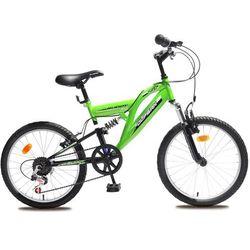 Olpran rower dziecięcy Buddy 20'' black/green - Gwarancja terminu lub 50 zł! - Bezpłatny odbiór osobisty: Wrocław, Warszawa, Katowice, Kraków