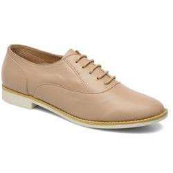 Buty sznurowane Shellys London KEDIENG Damskie Beżowe Dostawa 2 do 3 dni