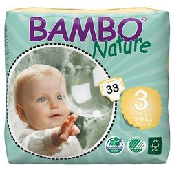 - BAMBO NATURE - Pieluchy Jednorazowe 3 Midi 5-9 kg