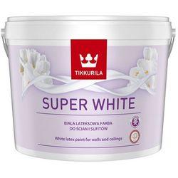 Farba BIAŁA SUPER WHITE 10L TIKKURILA