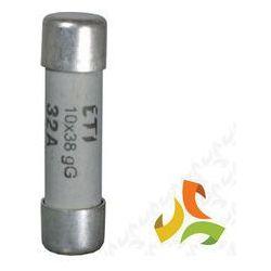Bezpiecznik, wkładka topikowa cylindryczna CH10x38 gG 32A 002620015 ETI