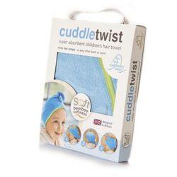 Cuddletwist Ręcznik na Włosy Niebieski