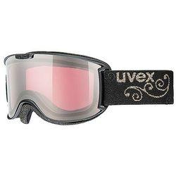 GOGLE NARCIARSKIE UVEX SKYPER LTM BLACK / ROSE
