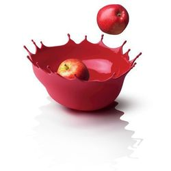 Menu DROPP! Silikonowa Misa na Owoce - Kropla Czerwona
