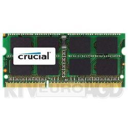 Crucial DDR3 4GB 1600 CL11 SODIMM Apple - produkt w magazynie - szybka wysyłka! Darmowy transport od 99 zł | Ponad 200 sklepów stacjonarnych | Okazje dnia!