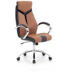 Krzeslo biurowe brazowe - fotel biurowy obrotowy - meble biurowe - FORMULA 1