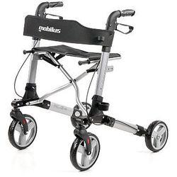 Multifunkcyjna Podpórka rehabilitacyjna dla osób starszych, ułatwiająca chodzenie MOBILUS LITE