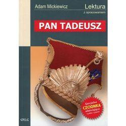 PAN TADEUSZ LEKTURA WYDANIE Z OPRACOWANIEM (opr. miękka)