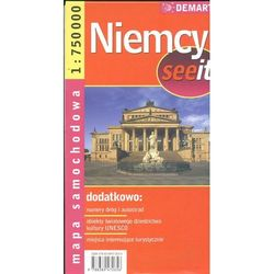 Niemcy 1:750 000 mapa samochodowa