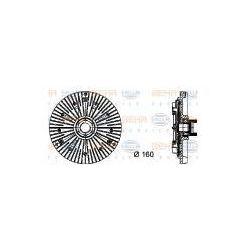 HELLA Sprzęgło, wentylator chłodzenia - 8MV376732-111