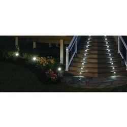 Lampa ogrodowa LED SOLARNA POLUX ZK8044 schodowa