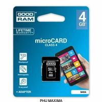 KARTA PAMIĘCI GOODRAM MICRO SD 4GB CLASS 4 ADAPTER