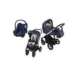 Wózek wielofunkcyjny 3w1 Lupo Husky Baby Design + Citi GRATIS (granatowy 2016)