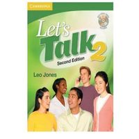 Let's Talk 2nd Ed 2 Sb W / Cd (opr. miękka)