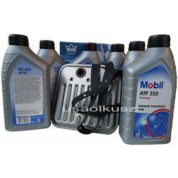 Filtr oraz olej Mobil ATF-320 skrzyni biegów Dodge Dakota 1998-2003