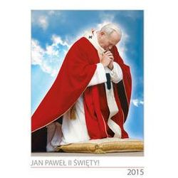Kalendarz 2015 ścienny 7-planszowy Jan Paweł II święty - .