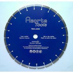 Asorte Tools_Tarcza diamentowa fi 350 mm do cięcia betonu i żelbetonu (Do pił ręcznych spalinowych i stolikowych)