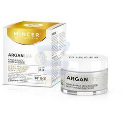 Mincer Pharma ARGANLIFE 50+ Nawilżający krem do twarzy na dzień 50 ml