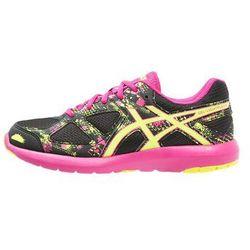 ASICS GELLIGHTPLAY 3 Obuwie do biegania startowe black/safety yellow/sport pink