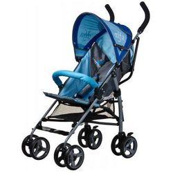 Caretero Alfa wózek dziecięcy spacerówka niebieski blue