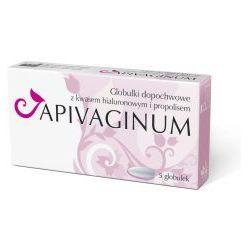 Apivaginum Globulki z kwasem hialuronowym i propolisem x 5 globulek