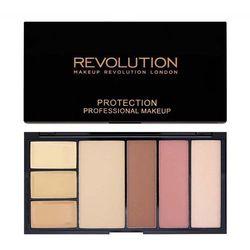 Makeup Revolution Protection Palette Light/Medium - paleta do makijażu twarzy