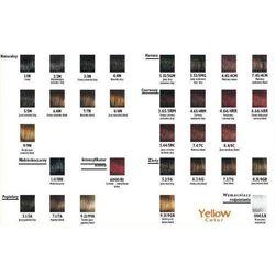 Yellow Color Farba do włosów 7.0 - naturalny blond - 7.0 - naturalny blond ||1.0 - czarny