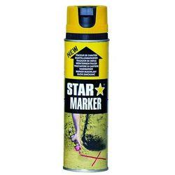 Farba w aerozolu AMPERE Star Marker - żółty