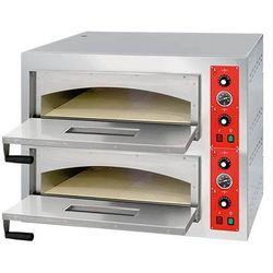 Piec do pizzy 2-komorowy (2x4 pizze), 9kW