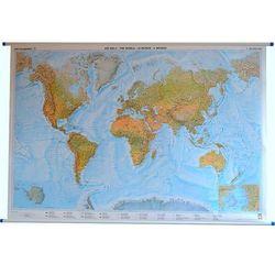Świat mapa ścienna fizyczna 1:25 000 000 Freytag & Berndt
