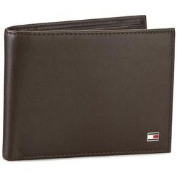 3437f54b01c12 Duży Portfel Męski TOMMY HILFIGER - Eton Cc Flap And Coin Pocket  AM0AM00652/83362 041