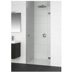 RIHO ARTIC A101 Drzwi prysznicowe 100x200 LEWE, szkło transparentne EasyClean GA0003201