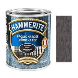 Farba Prosto Na Rdzę - Efekt Młotkowy Szary 2,5L Hammerite